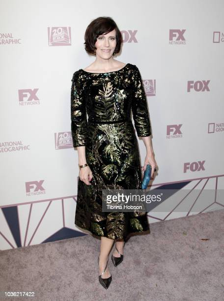 Joanna Adler attends FOX Broadcasting Company FX National Geographic and 20th Century Fox Television 2018 Emmy Nominee Party at Vibiana on September...