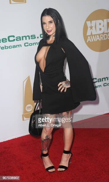 Joanna Angel arrives for the 2018 XBIZ Awards held at JW Marriot at LA Live on January 18 2018 in Los Angeles California