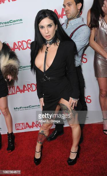 Joanna Angel arrives for the 2019 AVN Awards Nominations Party held at Avalon on November 15 2018 in Hollywood California