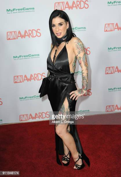 Joanna Angel attends the 2018 Adult Video News Awards held at Hard Rock Hotel Casino on January 27 2018 in Las Vegas Nevada
