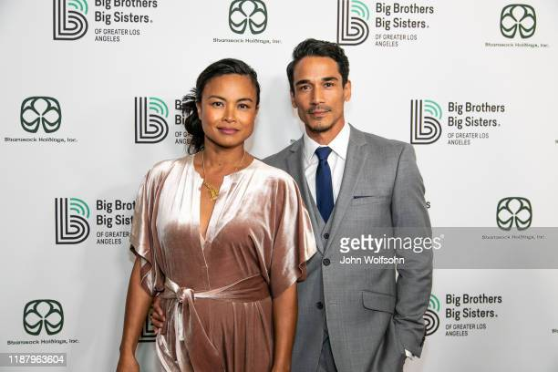 Joanna Bacalso and Matthew Garel attend the Big Brothers Big Sisters of Greater Los Angeles which will honor outstanding members of the Los Angeles...
