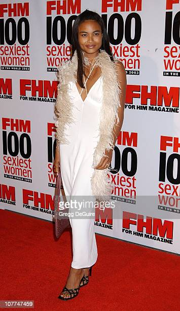Joanna Bacalso during FHM Magazine Hosts The 100 Sexiest Women in the World Party at Raleigh Studios in Hollywood California United States