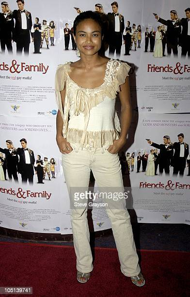 Joanna Bacalso during Friends and Family Los Angeles Premiere at Laemmles Monica 4Plex in Santa Monica California United States