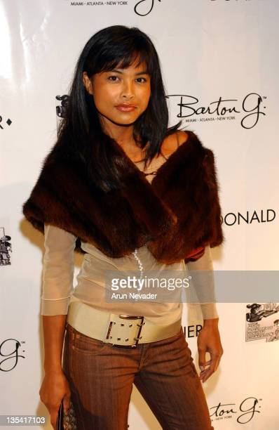 Joanna Bacalso during Grand Opening Of The Donald J Pliner Boutique In Beverly Hills Benefiting The Mark Wahlberg Youth Foundation Arrivals at Donald...