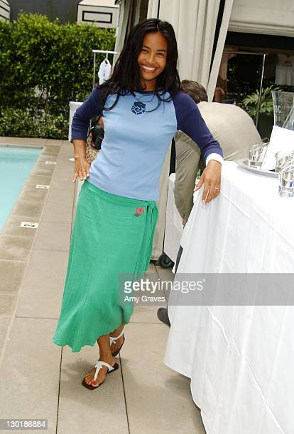 Joanna Bacalso with Wildlife Works Tshirt during The Ultimate Crib Day Two at Viceroy Hotel in Santa Monica California United States