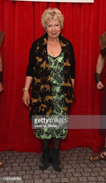 Joanna Bacon attends the World Premiere of Horrible Histories The Movie Rotten Romans at Odeon Luxe Leicester Square on July 6 2019 in London England