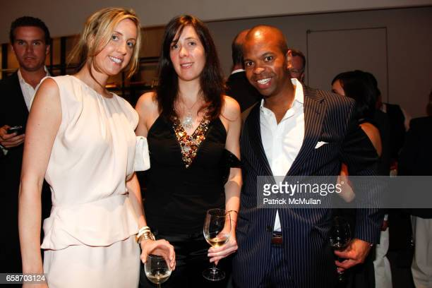 Joanna Baker Christine Gee and Lacary Sharpe attend Paul Chester's Children Hope Foundation's Annual Benefit at Core Club on June 1 2009 in New York