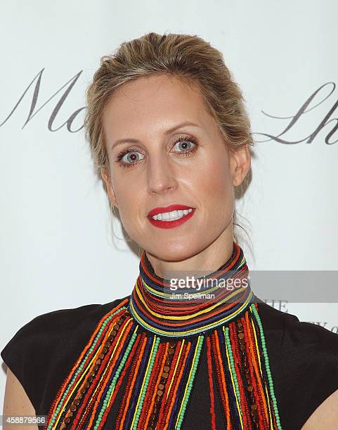 Joanna Baker de Neufville attends the 2014 The Society Of Memorial Sloan Kettering fall party at Four Seasons Restaurant on November 12 2014 in New...