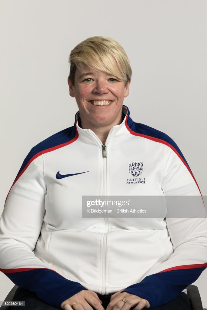 Joanna Butterfield of Great Britain poses for a portrait during the British Athletics World Para Athletics Championships Squad Photo call on June 25, 2017 in Loughborough, England.