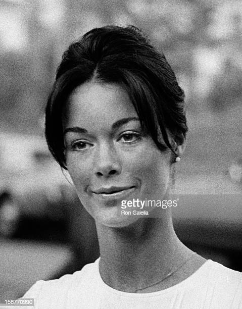 Joanna Cameron attends Polly Bergen Party on June 12 1971 at Polly Bergen's home in Beverly Hills California