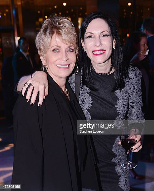 Joanna Cassidy and Jill Kargman attend the after party for Bravo's screening of Odd Mom Out at Casa Lever on June 3 2015 in New York City