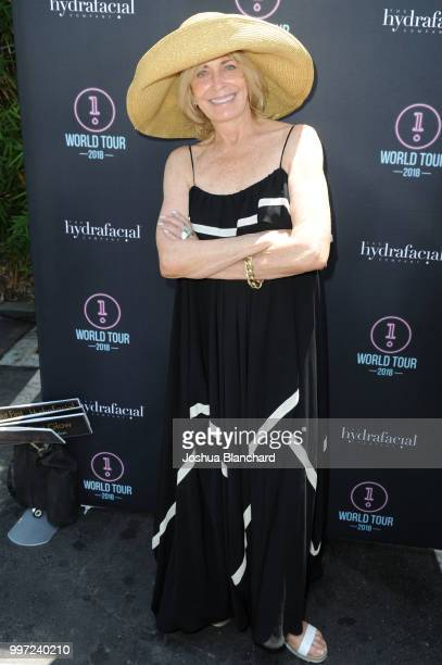 Joanna Cassidy attends the HydraFacial World Tour Los Angeles on July 12 2018 in Venice California