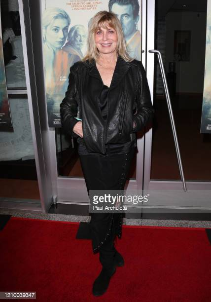 """Joanna Cassidy attends the LA special screening of Sony's """"The Burnt Orange Heresy"""" at Linwood Dunn Theater on March 02, 2020 in Los Angeles,..."""