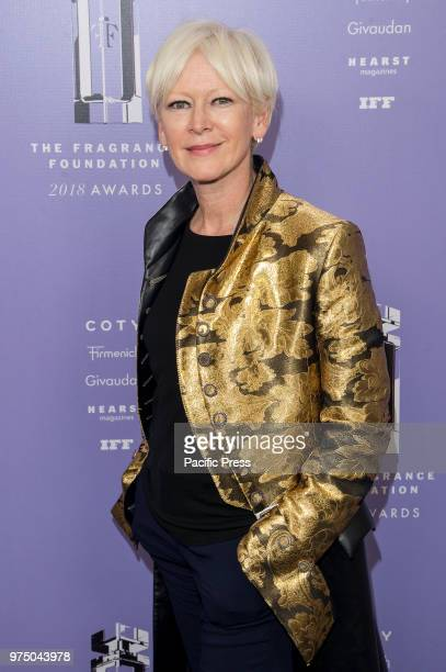 Joanna Coles attends 2018 Fragrance Foundation Awards at Alice Tully Hall at Lincoln Center