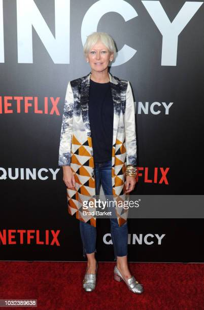 Joanna Coles attends Netflix's 'Quincy' New York Special Screening on September 12 2018 in New York City