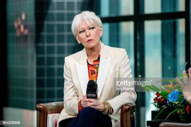 Joanna Coles discusses 'Love Rules' with the Build Series at Build Studio on April 10 2018 in New York City