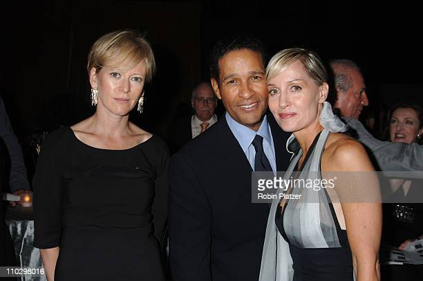 Joanna Coles Hilary and Bryant Gumbel during Hearst Magazines Hosts 30 Days of Fashion and Charity Auction Event Benefitting The Ovarian Cancer...