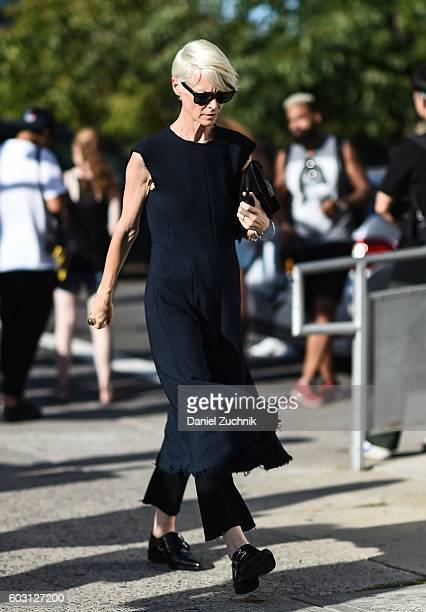 Joanna Coles is seen outside the Altuzarra show during New York Fashion Week Spring 2017 on September 11 2016 in New York City