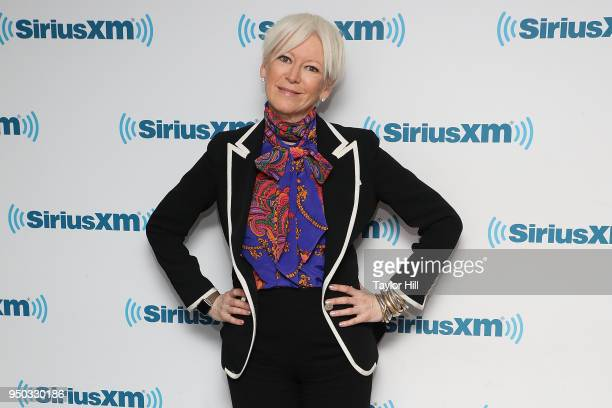 Joanna Coles visits the SiriusXM Studios on April 23 2018 in New York City