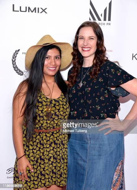 Joanna DeLane and Alexis Martino attend the Kash Hovey and Friends Film Block at Film Fest LA at Regal Cinemas LA LIVE Stadium 14 on November 09 2019...