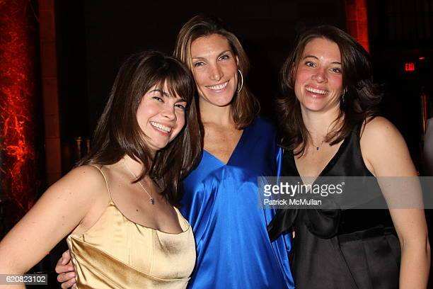 Joanna Dubin Alyssa Fanelli and Deirdre Dunn attend PAUL TAYLOR Dance Company 2008 New York Season Gala at Cipriani 42nd Street on March 4 2008 in...