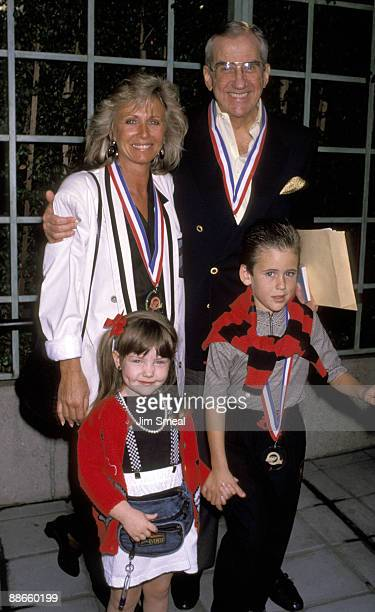 Joanna Ford and Ed McMahon with daughter Catherine Mary and son Alex