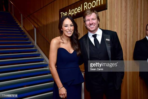 Joanna Gaines and Chip Gaines attend the Time 100 Gala 2019 at Jazz at Lincoln Center on April 23 2019 in New York City