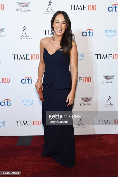 Joanna Gaines attends the TIME 100 Gala 2019 Cocktails at Jazz at Lincoln Center on April 23, 2019 in New York City.