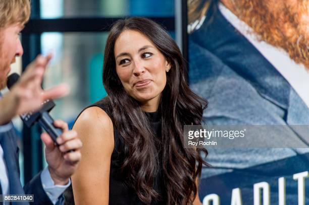 """Joanna Gaines discusses """"Capital Gaines: Smart Things I Learned Doing Stupid Stuff"""" and the ending of the show """"Fixer Upper"""" with the Build Series at..."""