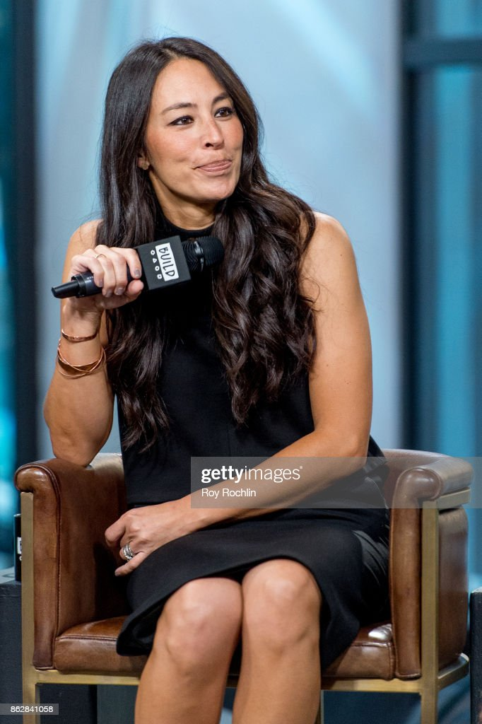 """Build Presents Chip & Joanna Gaines Discussing Their Book """"Capital Gaines: Smart Things I Learned Doing Stupid Stuff"""" : News Photo"""