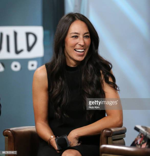 Joanna Gaines discusses new book Capital Gaines Smart Things I Learned Doing Stupid Stuff at Build Studio on October 18 2017 in New York City
