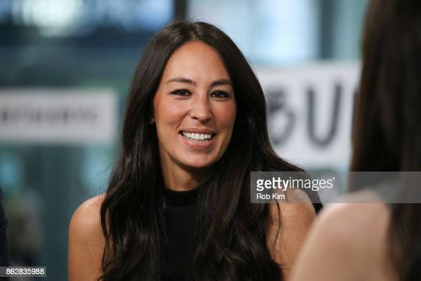 Joanna Gaines discusses new book 'Capital Gaines Smart Things I Learned Doing Stupid Stuff' at Build Studio on October 18 2017 in New York City