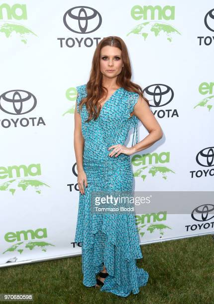 JoAnna Garcia attends the Environmental Media Association 1st Annual Honors Benefit Gala on June 9 2018 in Los Angeles California
