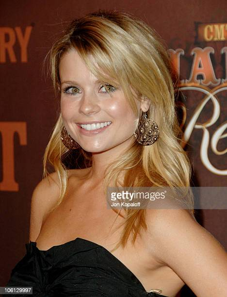 JoAnna Garcia during CMT Giants Honoring Reba McEntire Arrivals at Kodak Theatre in Hollywood California United States
