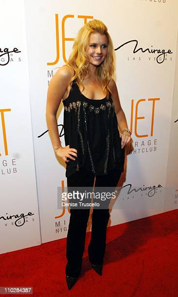 Joanna Garcia during Jet Nightclub at The Mirage Grand Opening Celebration Red Carpet Arrivals at Jet Nightclub at The Mirage in Las Vegas Nevada