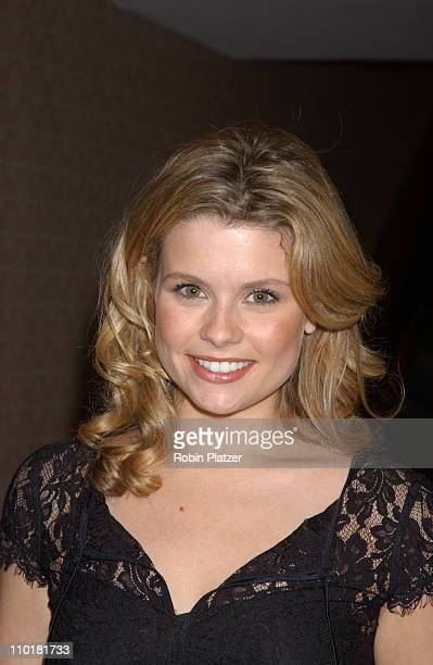 Joanna Garcia during WB Television Network 2003 2004 Upfront Presentation at Sheraton Hotel in New York NY United States