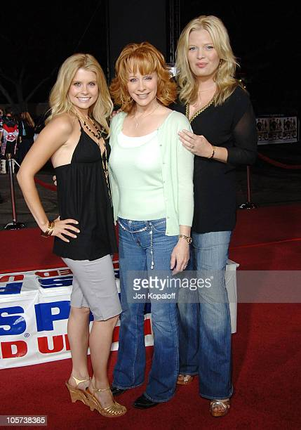 JoAnna Garcia Reba McEntire and Melissa Peterman during 'Supercross' Los Angeles Premiere Arrivals at Veterans Administration Complex in Westwood...
