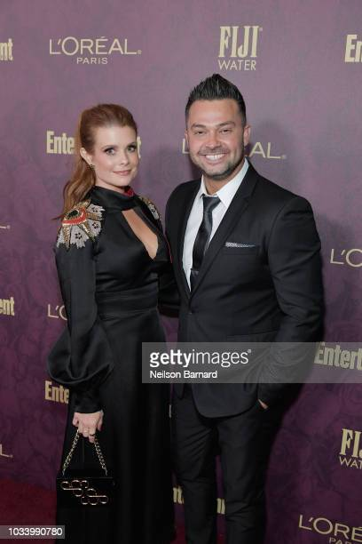 JoAnna Garcia Swisher and Nick Swisher attend the 2018 PreEmmy Party hosted by Entertainment Weekly and L'Oreal Paris at Sunset Tower on September 15...