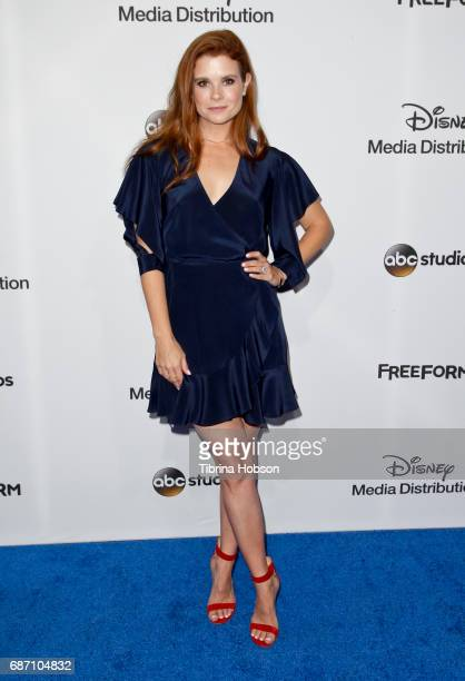 JoAnna Garcia Swisher attends the 2017 ABC/Disney Media Distribution International Upfronts at Walt Disney Studio Lot on May 21 2017 in Burbank...