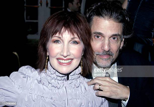 Joanna Gleason and Chris Sarandon during 2005 National Corporate Theatre Fund Annual Gala at The Essex House in New York City New York United States