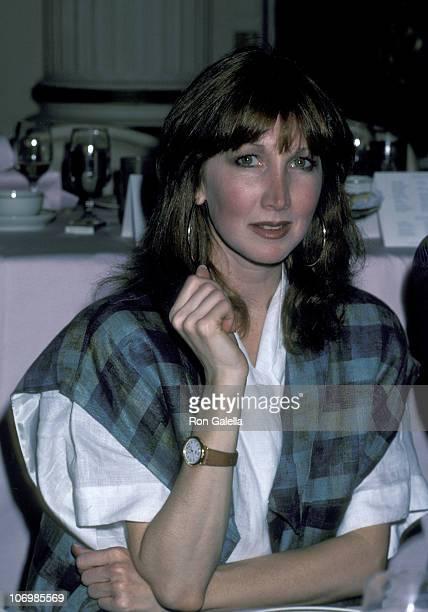 Joanna Gleason during 1986 Drama League Awards at Plaza Hotel in New York City New York United States