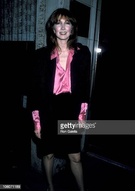 Joanna Gleason during 1986 Outer Critics Awards at Sardi's Restaurant in New York City New York United States