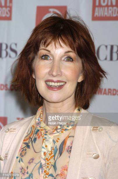 Joanna Gleason during 59th Annual Tony Awards Nomination Press Conference at Marriott Marquis in New York City New York United States