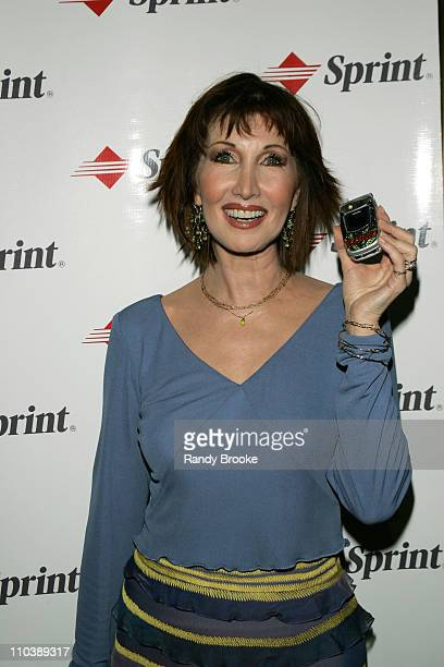 Joanna Gleason during Sprint at the 59th Annual Tony Awards at Rainbow Room in New York City New York United States