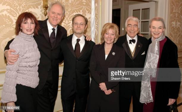 Joanna Gleason John Lithgow David Hyde Pierce Jane Curtin Gordon Davidson and Marian Seldes