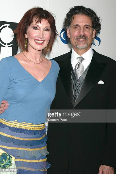 Joanna Gleason nominee Best Performance by a Featured Actress in a Musical for Dirty Rotten Scoundrels and husband Chris Sarandon