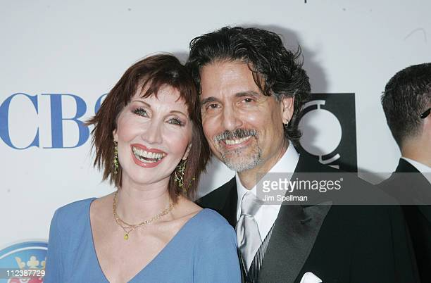Joanna Gleason nominee Best Performance by a Featured Actress in a Musical for Dirty Rotten Scoundrels and guest