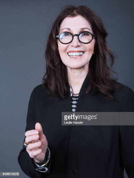 Joanna Gleason poses for a portrait during the Jury Welcome Lunch 2018 Tribeca Film Festival at Tribeca Film Center on April 19 2018 in New York City