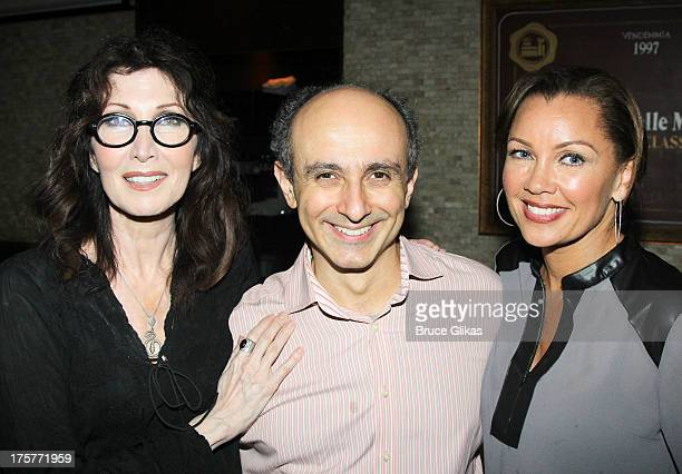 Joanna Gleason Stephen DeRosa and Vanessa Williams attend the Buyer and Cellar Michael Urie portrait unveiling birthday party at Tony di Napoli on...