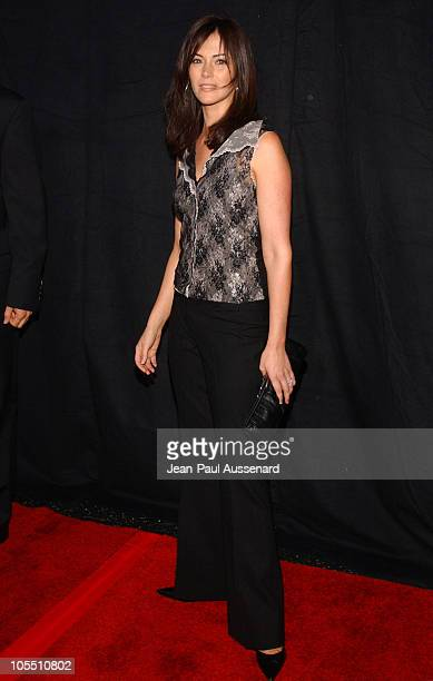 Joanna Going during FX Networks Nip/Tuck 3rd Season Premiere Screening Arrivals at El Capitan Theatre in Hollywood California United States
